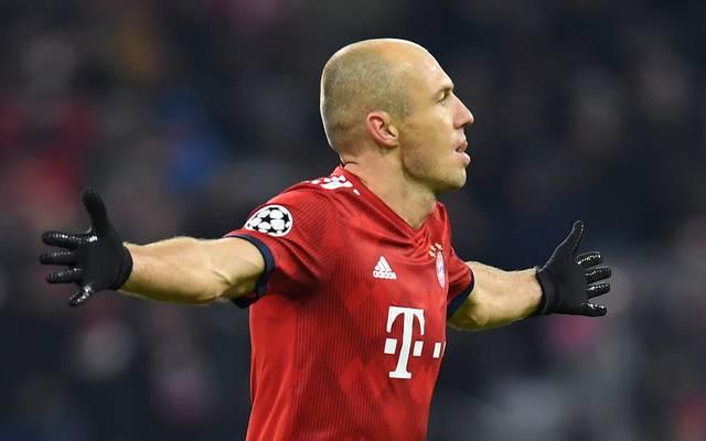 Arjen Robben erzielte zwei Tore