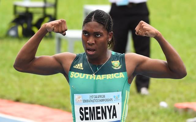 Caster Semenya gewann über die 800 Meter bisher zweimal Olympia-Gold und wurde dreimal Weltmeisterin