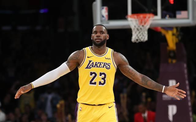 LeBron James hatte gegen die Toronto Raptors nichts zu feiern
