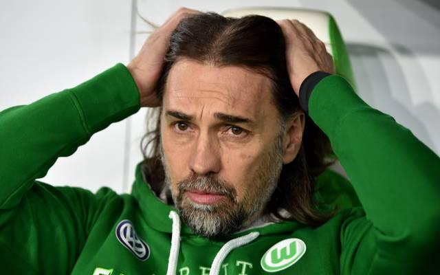 Martin Schmidt trat im Februar 2018 als Trainer des VfL Wolfsburg zurück