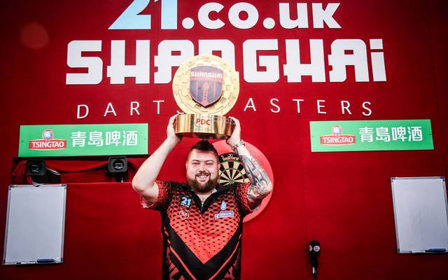 Michael Smith hat die Shanghai Darts Masters gewonnen