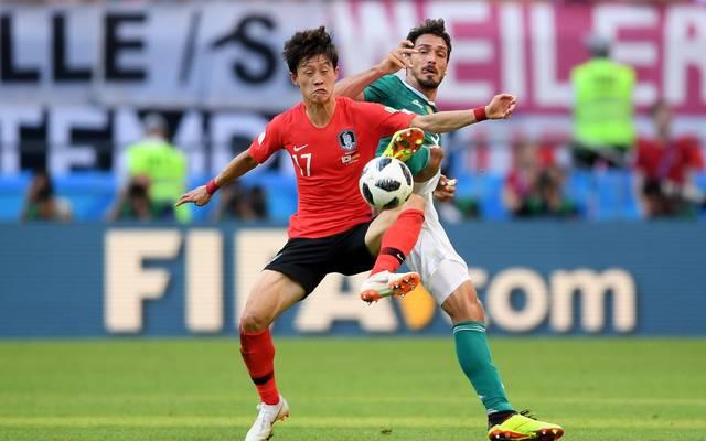Jae Sung Lee stand im WM-Spiel gegen Deutschland in der Startelf