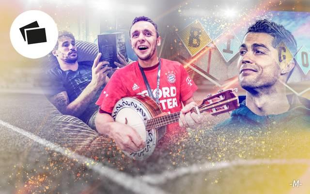 Javi Martinez, Rafinha, Cristiano Ronaldo, Hobbys, Fußballer