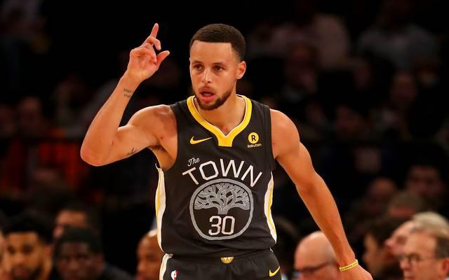 Stephen Curry war gegen die Brooklyn Nets nicht zu stoppen