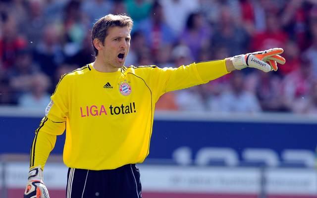 Hans Jörg Butt spielte von 2008 bis 2012 beim FC Bayern