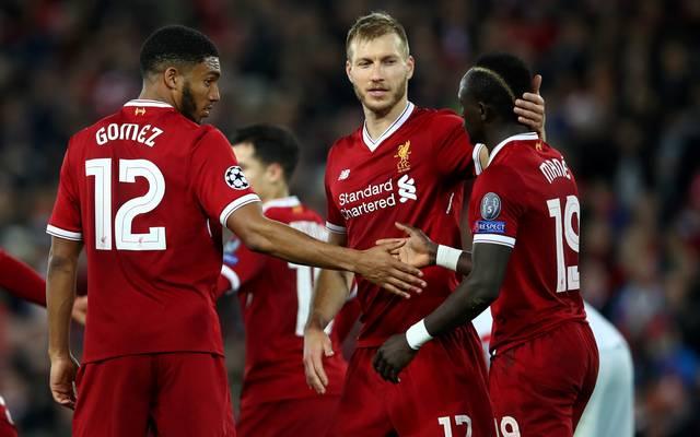 Der FC Liverpool steht im Achtelfinale der Champions League