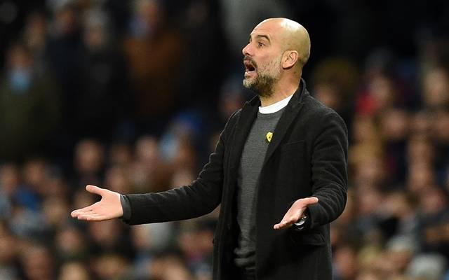 Pep Guardiola darf die Gelbe Schleife nicht mehr bei Spielen in der Premier League tragen