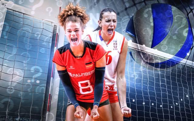 Vom 23. August bis 8. September spielen die besten Volleyballerinnen Europas um den Titel