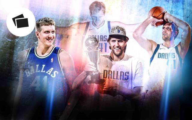 Dirk Nowitzki spielt seit 20 Jahren in der NBA