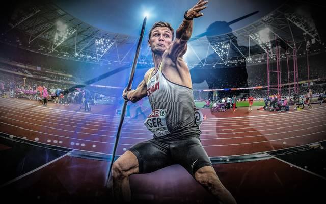 Thomas Röhler tritt bei der Leichtathletik-WM im Speerwurf an