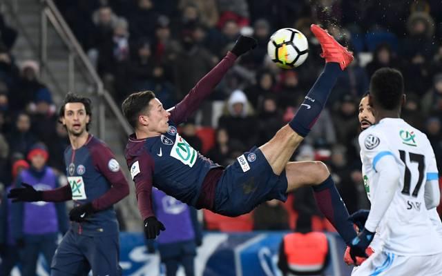 Julian Draxler steht bei Paris Saint-Germain noch bis 2021 unter Vertrag