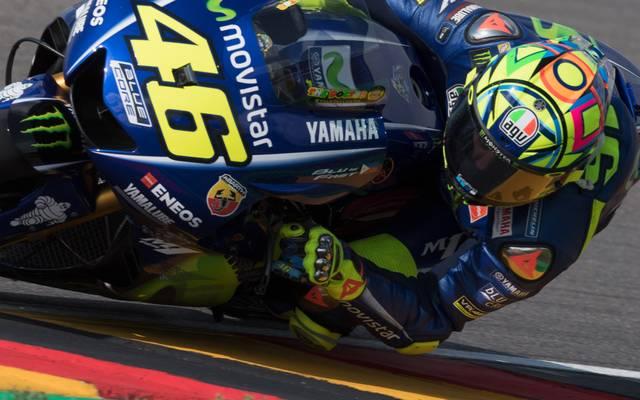Der MotoGP-Zirkus macht ab 2019 vorerst keinen Stopp mehr am Sachsenring - Rossi
