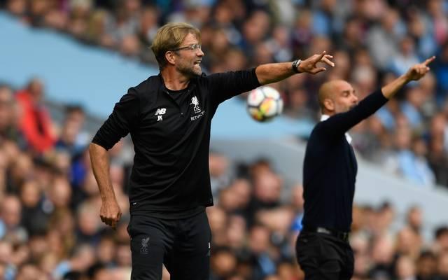 Jürgen Klopp hat gegen Pep Guardiola eine positive Bilanz: sechs Siege, fünf Remis und fünf Niederlagen