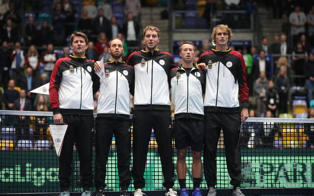 Germany v Hungary - Davis Cup Day 1
