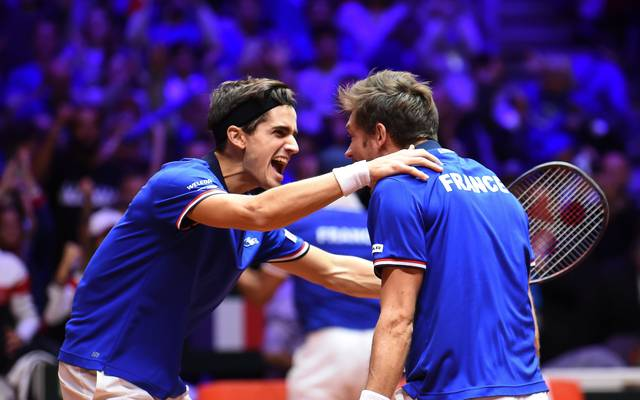 Tennis, Davis Cup: Frankreich gewinnt Doppel und verkürzt Rückstand