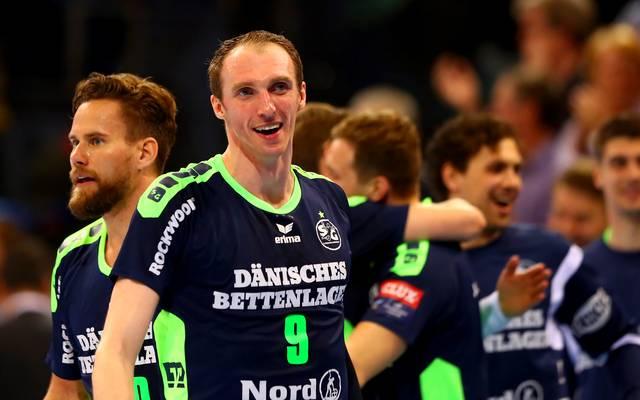 Holger Glandorf spielt seit 2011 bei der SG Flensburg-Handewitt