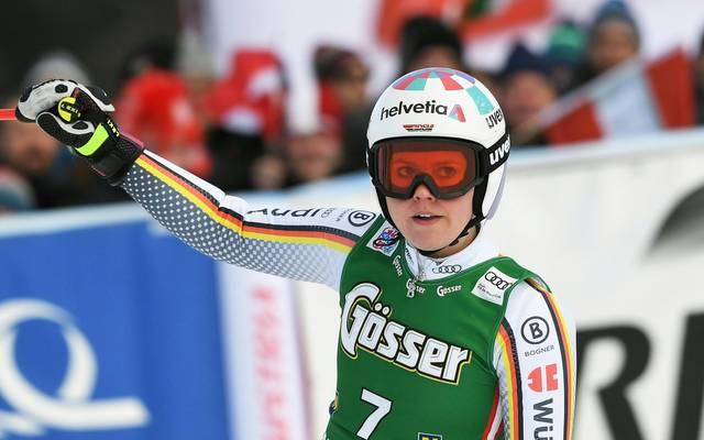 Ski Alpin: Viktoria Rebensburg auf Rang zwei, Shiffrin verpasst Rekord