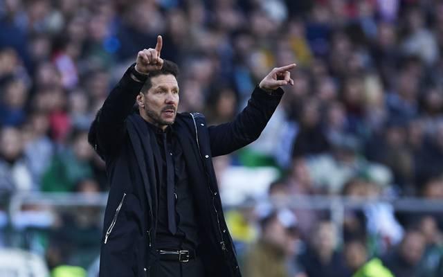 Diego Simeone ist seit 2012 Trainer von Atletico Madrid