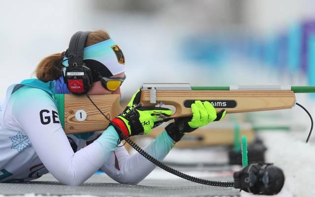 Clara Klug gewann bei den Paralympics 2018 zweimal Bronze