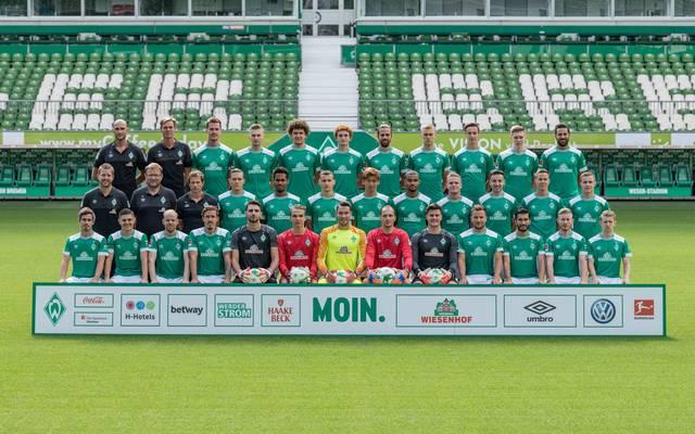 Mannschaftsfoto von Werder Bremen