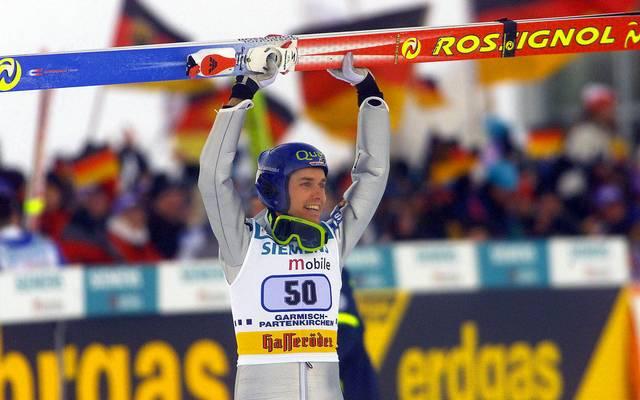 Bei der Tournee 2001/02 versetzte Sven Hannawald die deutschen Fans in Ekstase