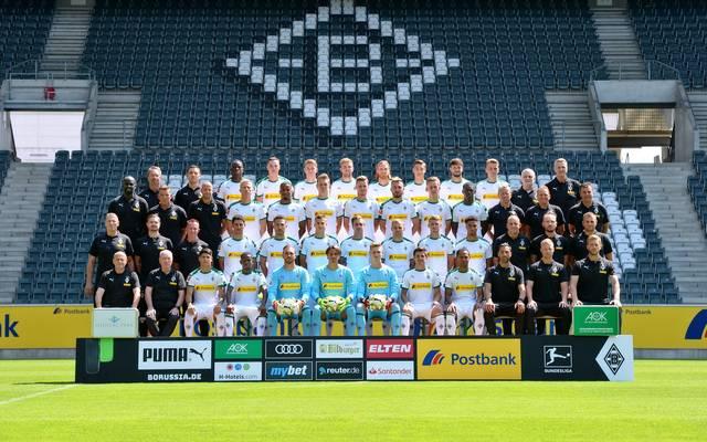 Mannschaftsfoto von Borussia Mönchengladbach