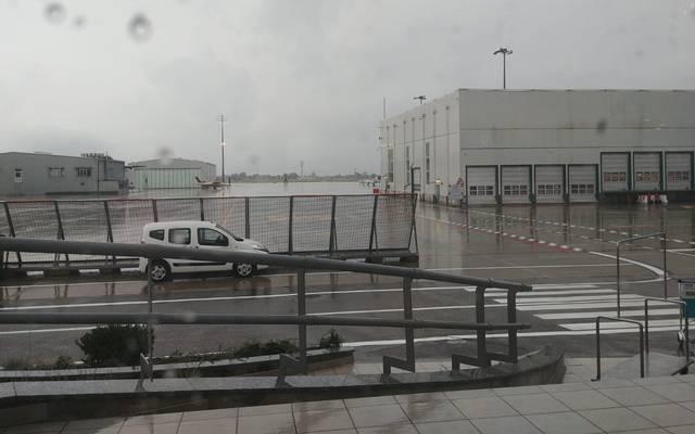 So sieht es am Flughafen in Turin aus