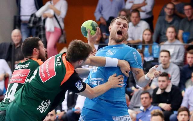 """Handball: Michael """"Mimi"""" Kraus mit 18 Toren bei Sieg von TVB Stuttgart"""