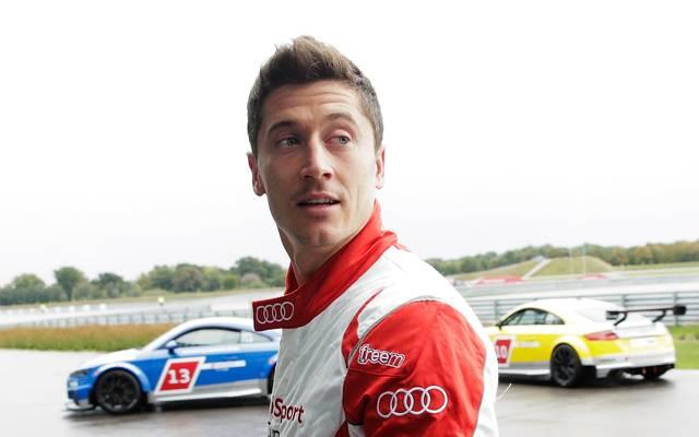 Robert Lewandowski ist ein Motorsport-Fan