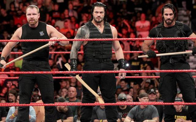 Dean Ambrose, Roman Reigns und Seth Rollins (v.l.) bilden bei WWE The Shield