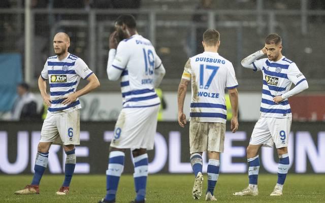 Der MSV Duisburg ist Tabellenletzter in der 2. Liga