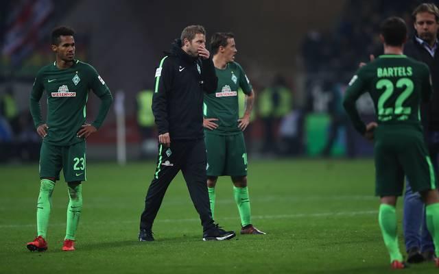 Florian Kohfeldt kassierte mit Werder Bremen eine 1:2-Pleite gegen Emmen