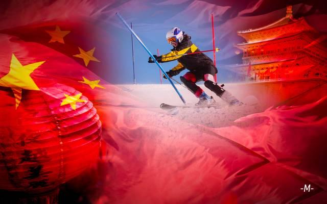 China baut in Garmisch sein Ski-Olmypiateam für Peking 2022 auf