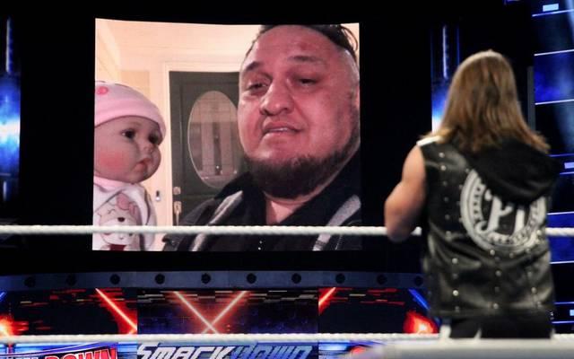 Samoa Joe suchte bei WWE SmackDown Live das Haus von AJ Styles heim