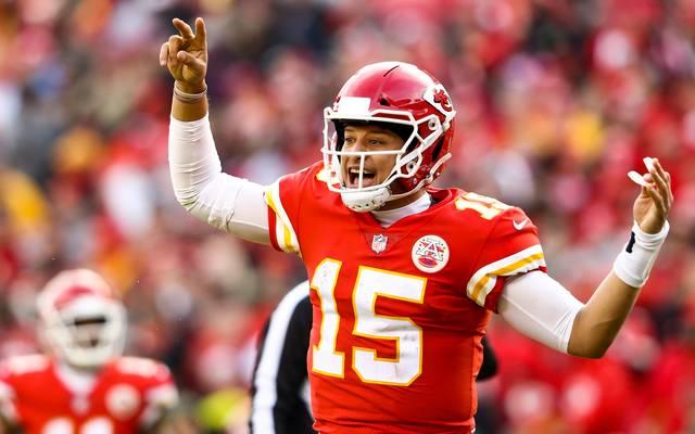NFL: Patrick Mahomes winkt gratis Ketchup bei Touchdown-Rekord
