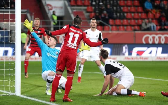 Ingolstadt und Sandhausen trennen sich 0:0