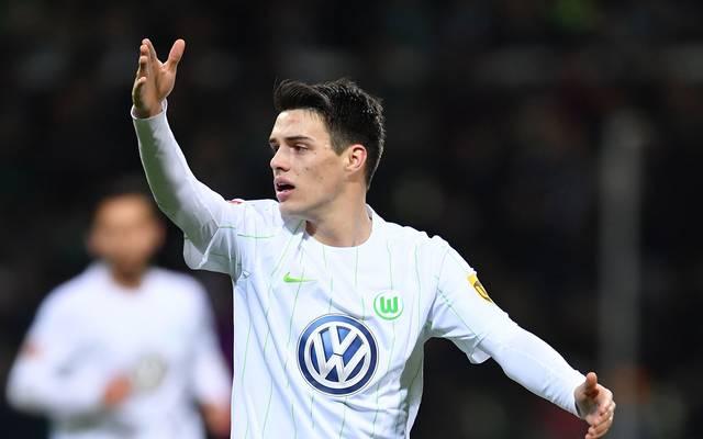 Josip Brekalo vom VfL Wolfsburg bekennt sich nicht zur Vielfalts-Aktion seines Vereins