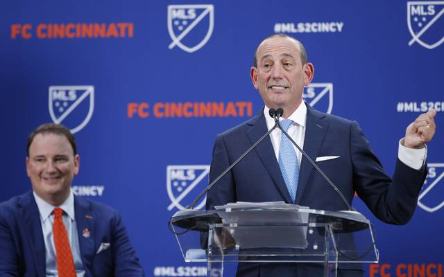 FC Cincinnati Announcement With MLS Commissioner Don Garber