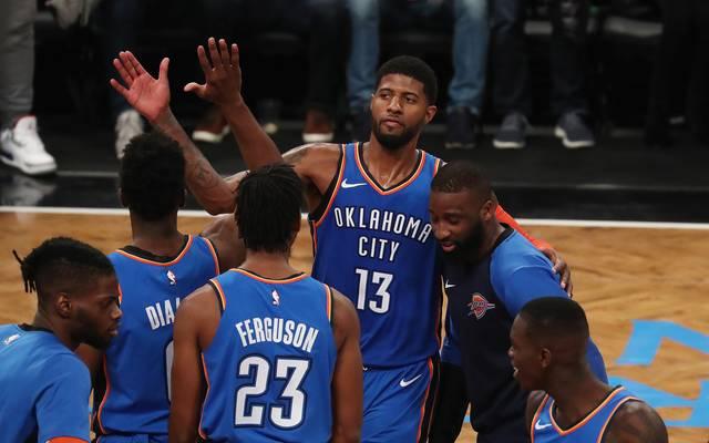 Paul George machte den Game Winner für Oklahoma City Thunder