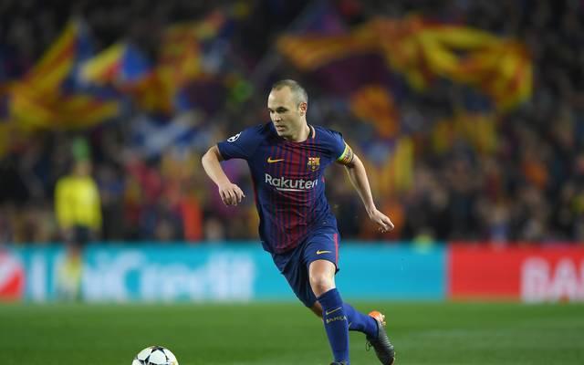 Andres Iniesta ist seit 2003 beim FC Barcelona