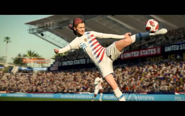 Kim Hunter spielt in der US-amerikanischen Nationalmannschaft in FIFA 19
