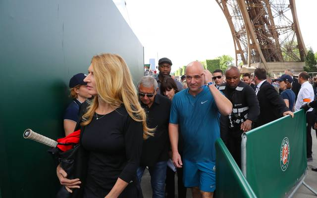 Steffi Graf und Andre Agassi haben mit körperlichen Folgen ihrer Tennis-Karriere zu kämpfen
