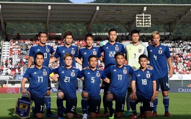 Mannschaftsfoto von Japan