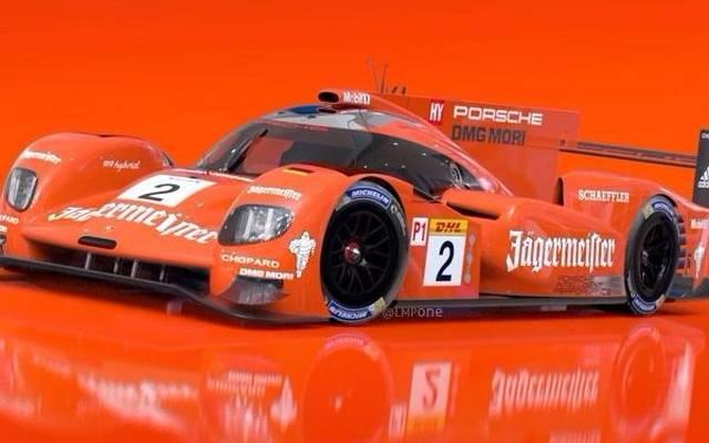 Auffälliger geht es kaum: Der aktuelle Porsche 919 Hybrid in Orange