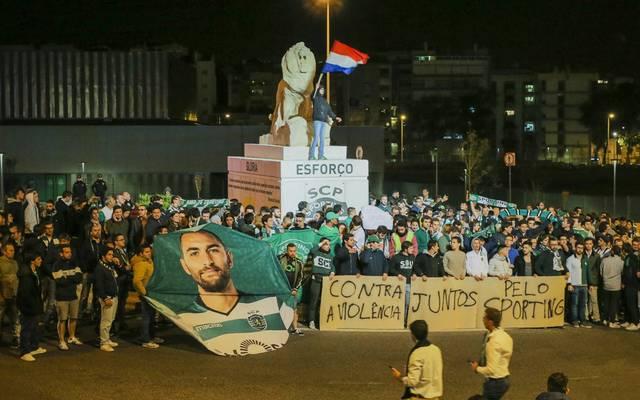 Fans von Sporting verurteilten die Angriffe auf Bas Dost und andere Spieler