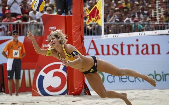 Laura Ludwig geht als Titelverteidigerin in die Heim-WM