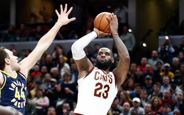 LeBron James gewann mit den Cleveland Cavaliers 2016 die Meisterschaft