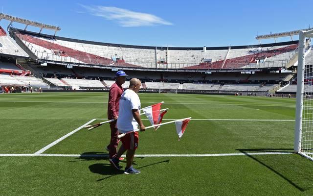 Das Final-Rückspiel der Copa Libertadores zwischen River Plate und Boca Juniors steigt nicht im Estadio Monumental