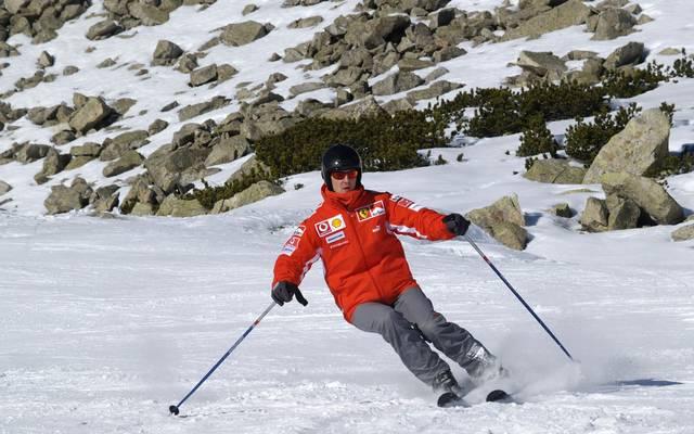 Michael Schumacher stürzte beim Skifahren am 29. Dezember 2013 schwer © Getty Images