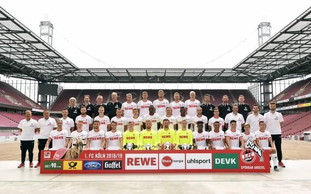 Mannschaftsfoto von 1. FC Köln